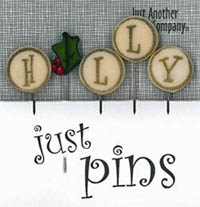 Just Pins - H is for Holly