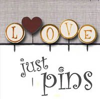 Just Pins - L is for Love