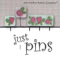 Just Pins - Hearts & Flowers