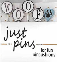Just Pins - W is for Woof