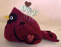 Love Bird Pincushion