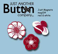 Just Magnets -Red & White