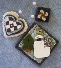 Snowball Pin-it Ornament Kit