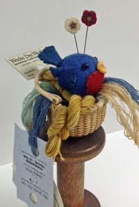 Bonnie Bluebird Pincushion Kit