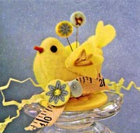 Little Birdie - An Impressionable Pincushion
