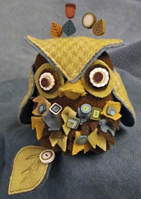J. Edgar Owl Pincushion Kit