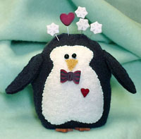 Peter Penguin Pincushion Kit