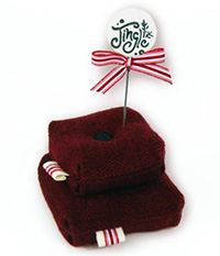 Jolly, Joy, Jingle Pincushion Kit