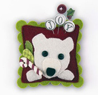 Peppermint Frost Slider - Peppermint Bear Kit