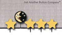 Just Pins - Moon & Stars