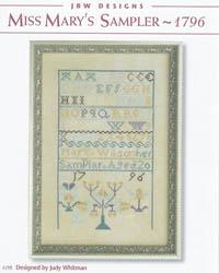 Miss Mary's Sampler - 1796