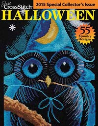 PRE-ORDER - - 2015 Just Cross Stitch Halloween Special Collector's Issue