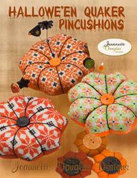 Halloween Quaker Pincushions