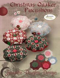 Christmas Quaker Pincushions