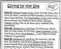 Seasons #1 - Spring by the Sea Embellishment Pack