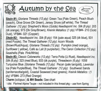 Seasons #3 - Autumn By The Sea Embellishment Pack