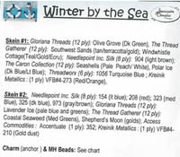 Seasons #4 - Winter by the Sea Embellishment Pack