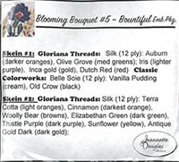 Blooming Bouquets #5 - Bountiful Embellishment Pack