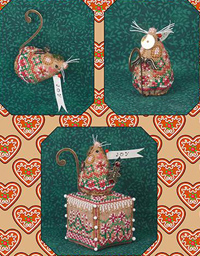 Gingerbread Angel Mouse Limited Edition Ornament