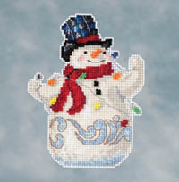Snowman with Lights Kit