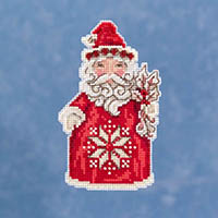 Nordic Santa Ornament Kit by Jim Shore