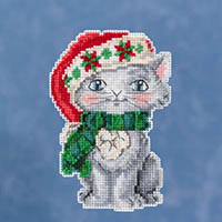 Kitty Ornament Kit by Jim Shore
