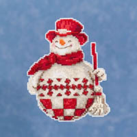Nordic Snowman Ornament Kit by Jim Shore
