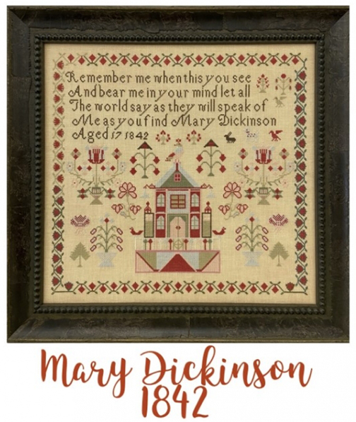 Miss Mary Dickinson 1842