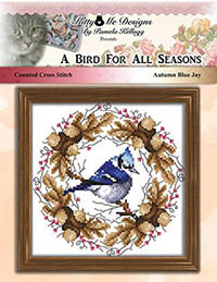 A Bird for All Seasons - Autumn Blue Jay
