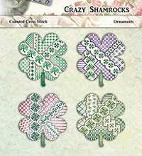 Crazy Shamrocks Ornaments
