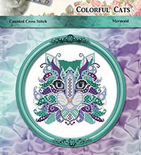 Colorful Cats Mermaid