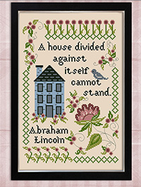 Inspirational Samplers A House Divided