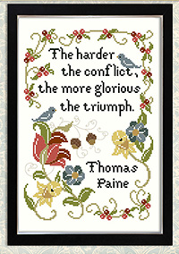 Inspirational Sampler The Harder The Conflict