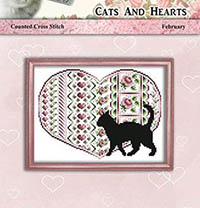 Cats and Hearts - February