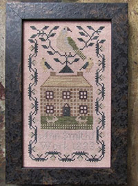 A Miniature Quaker Sampler