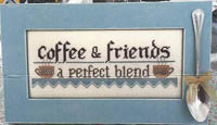 Coffee & Friends with/or without Frame