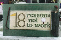 Golf - 18 Reasons Not To Work w/Frame