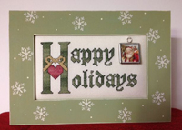 Happy Holidays with Frame