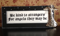 Be Kind To Strangers with Frame