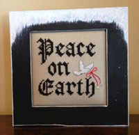 Peace on Earth with Frame