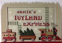 Santa's Toyland Express with Frame