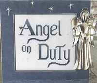 Angel on Duty w/Frame