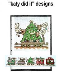 Santa's Railway - Christmas Tree Car