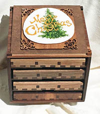 Boxed Treasures - Christmas
