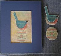 Cottage Prim Bluebird & Egg