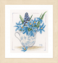 Blue Flowers by Marjolein Bastin Kit