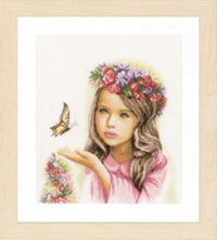 Angel with Butterflies Kit