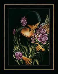 Woman & Flowers Kit