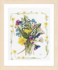 Bouquet of Flowers by Marjolein Bastin Kit