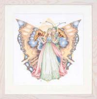 Butterflies Kit by Maria van Scharrenburg Kit